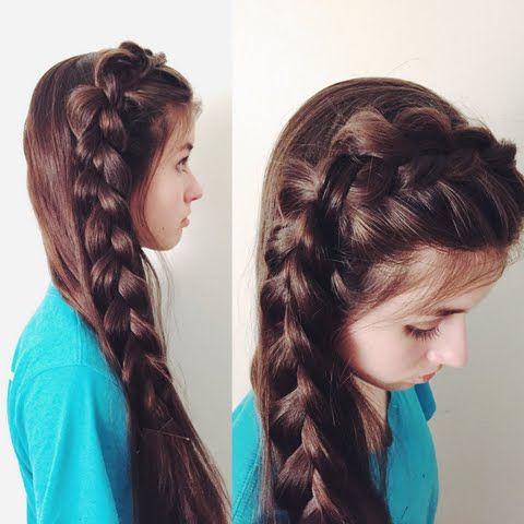 Pubic Hairstyles Inspiration Large Side Dutch Braid  Hair  Pinterest  Popular Hairstyles