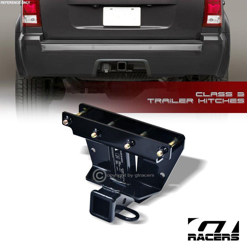 Details About Class 3 Trailer Hitch Receiver Rear Bumper Tow 2