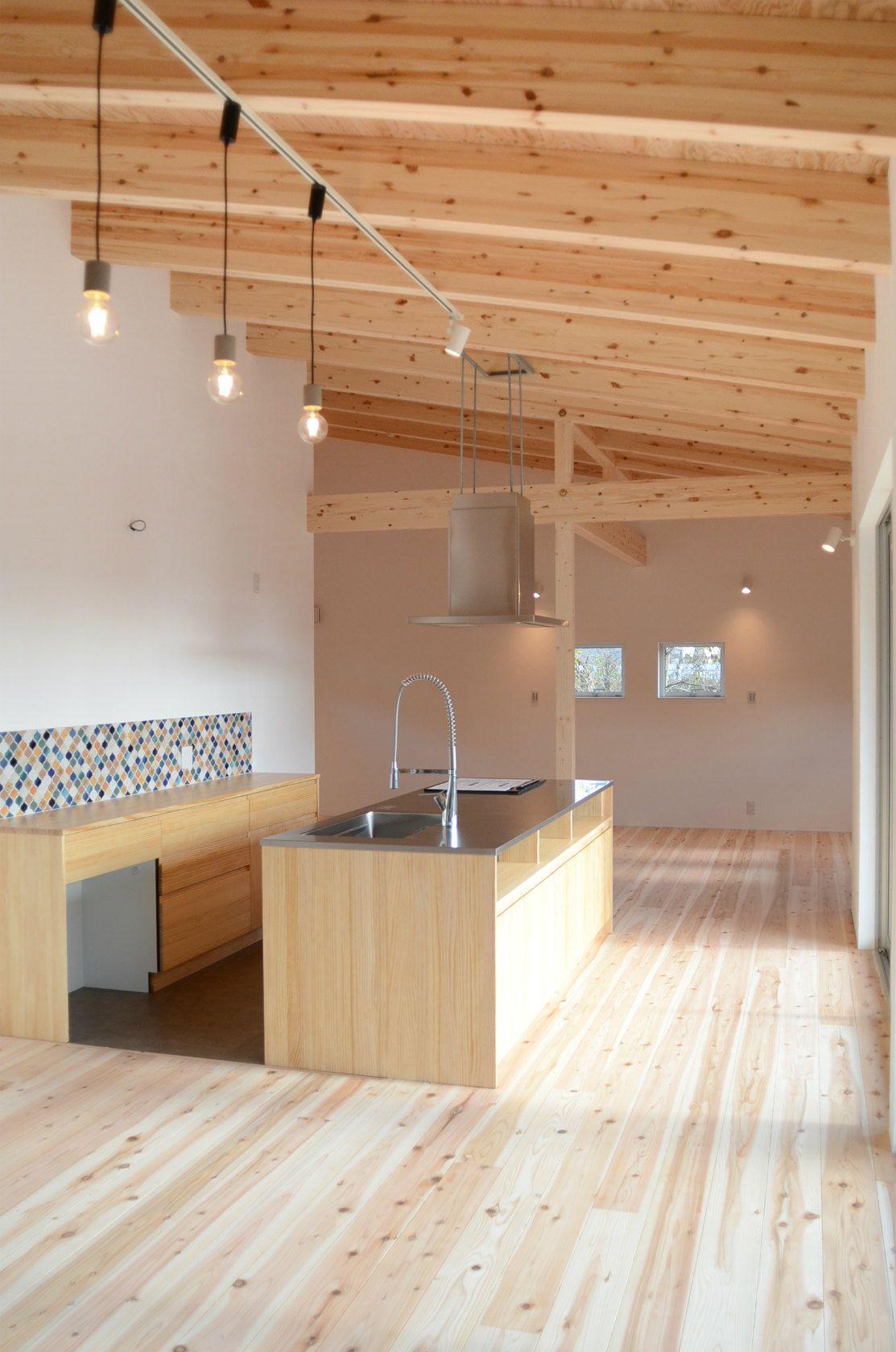 自然を楽しみながら暮らす平屋の家 大崎上島町 321house ミツイハウス