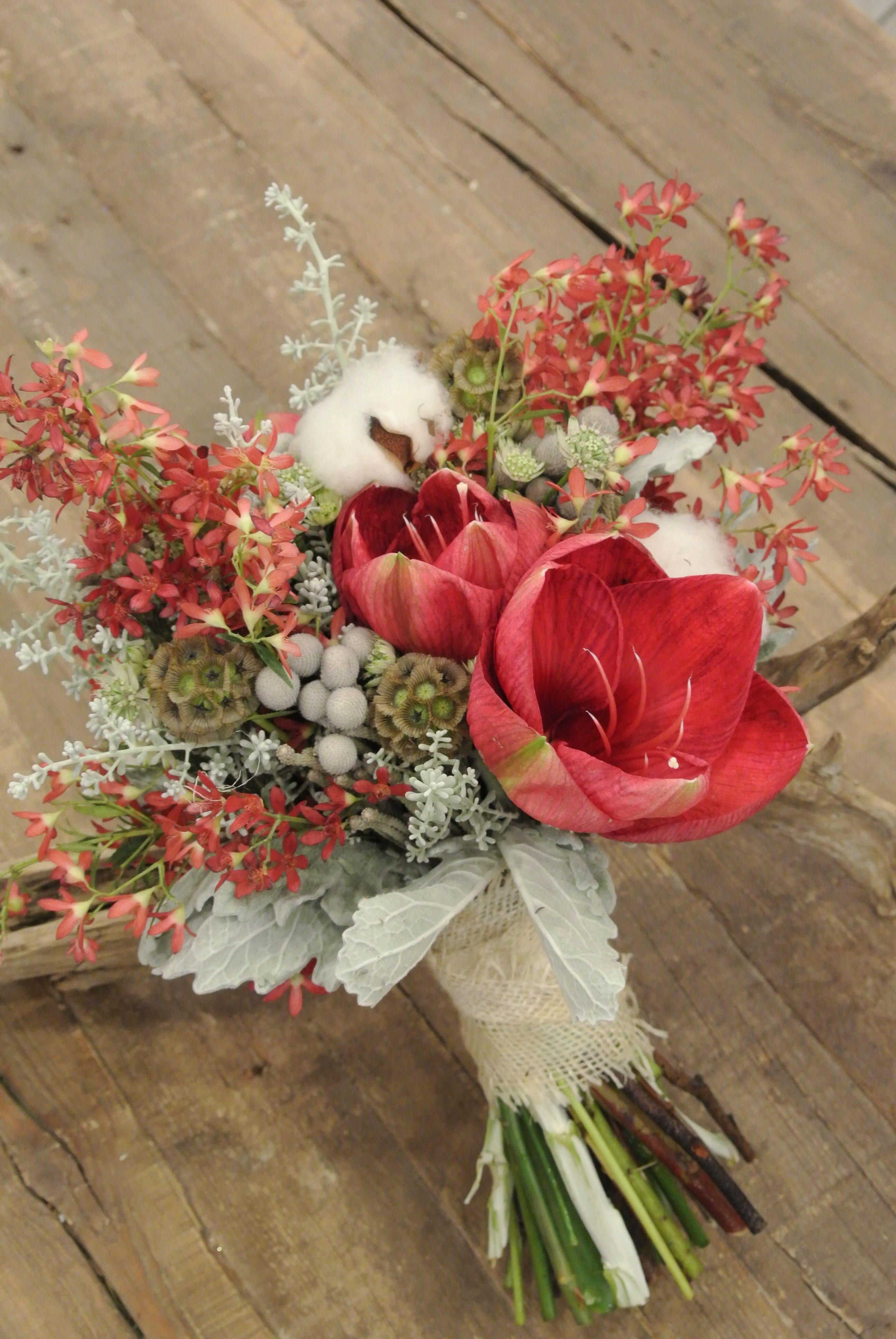 Pin Von Abby Hernandez Auf Forget Me Not Flowers Wedding Bouquets Amaryllis Brautstrauss Brautstrausse Blumenstrauss
