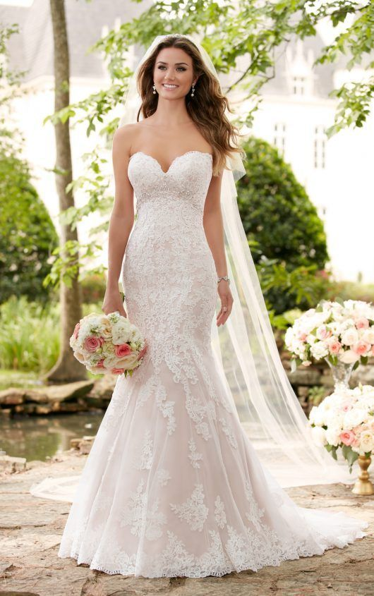 New 2017 Stella York 6379 Orla Romantic Lace Wedding Dress Hourglass ...