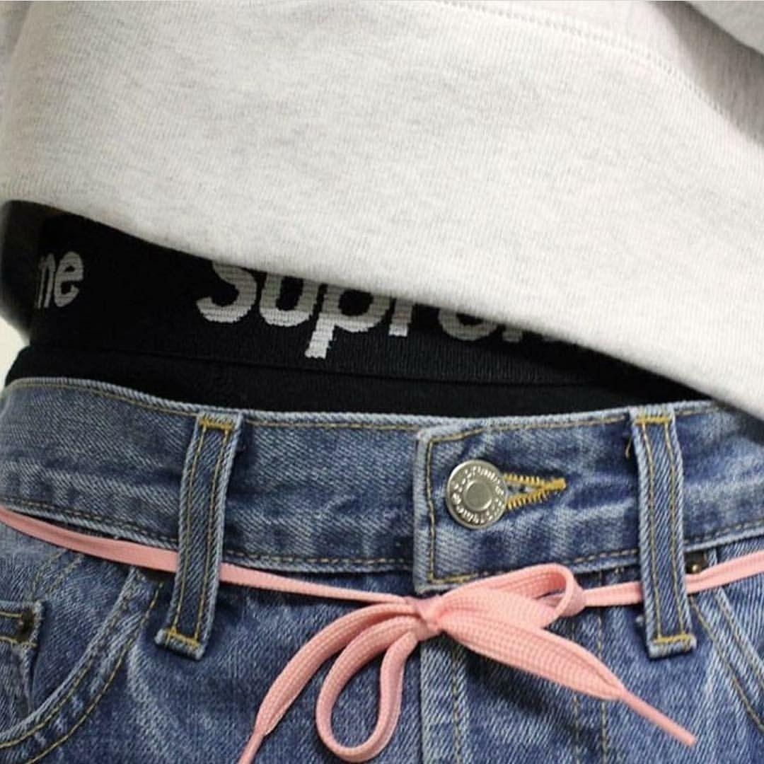 42fd1d27b (brxkensavvi) - #girl #tumblr #cute Shoelace Belt, Pink Shoelaces,