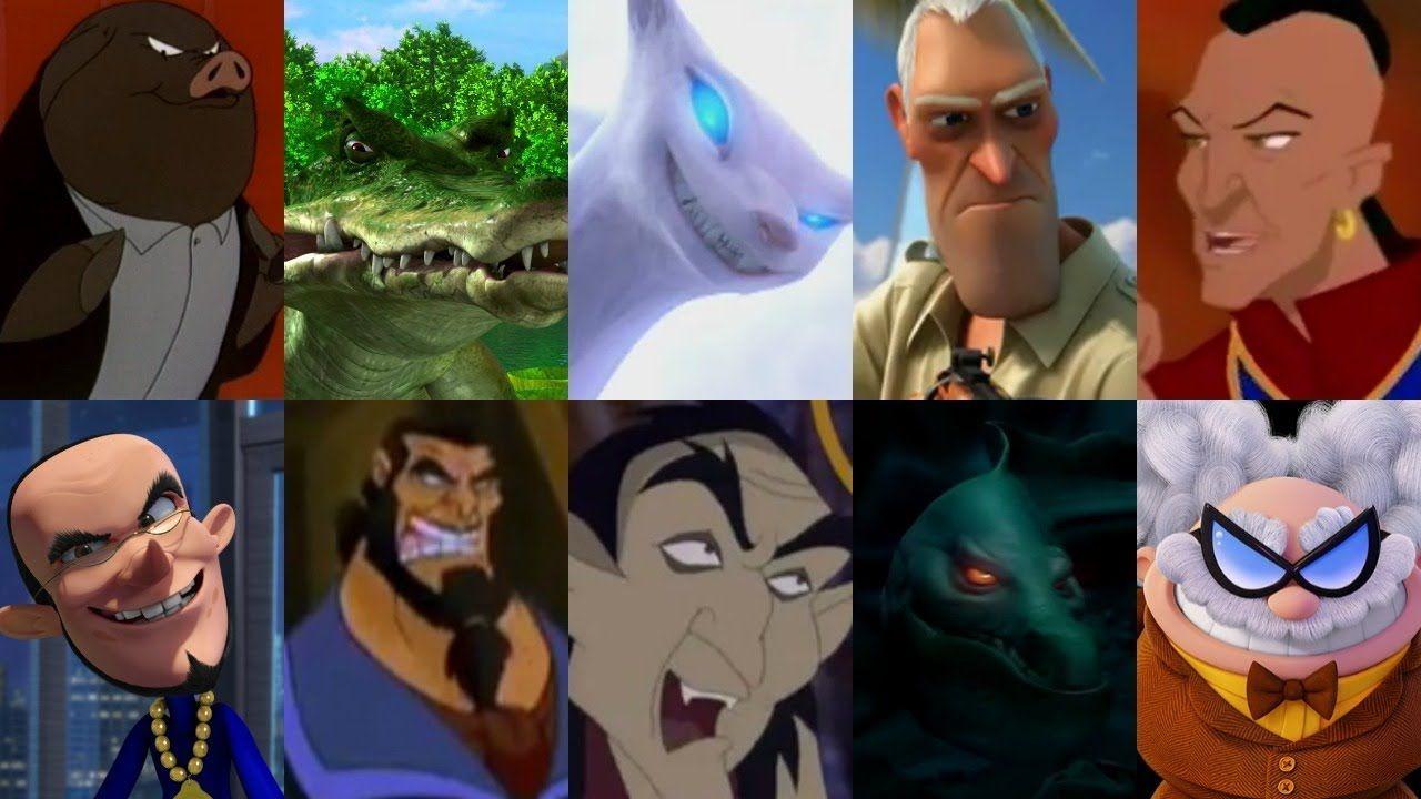 Defeats Of My Favorite Animated Non Disney Movie Villains Part Xxi Youtube Disney Movie Villains Villain Disney Movies