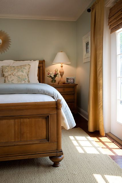 6th Street Design School Feature Friday The Cottage Mix Traditional Bedroom Small Master Bedroom Pine Bedroom Furniture