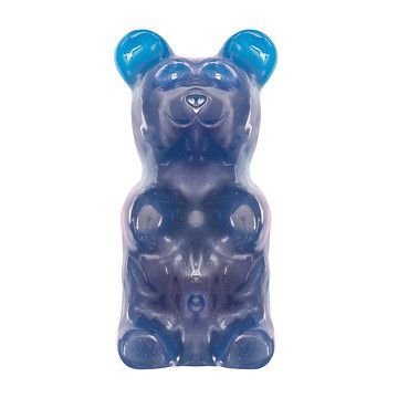 1000x actual size!  Over 9 inches tall!  Giant Gummy Bear Blue Raspberry now featured on Fab.