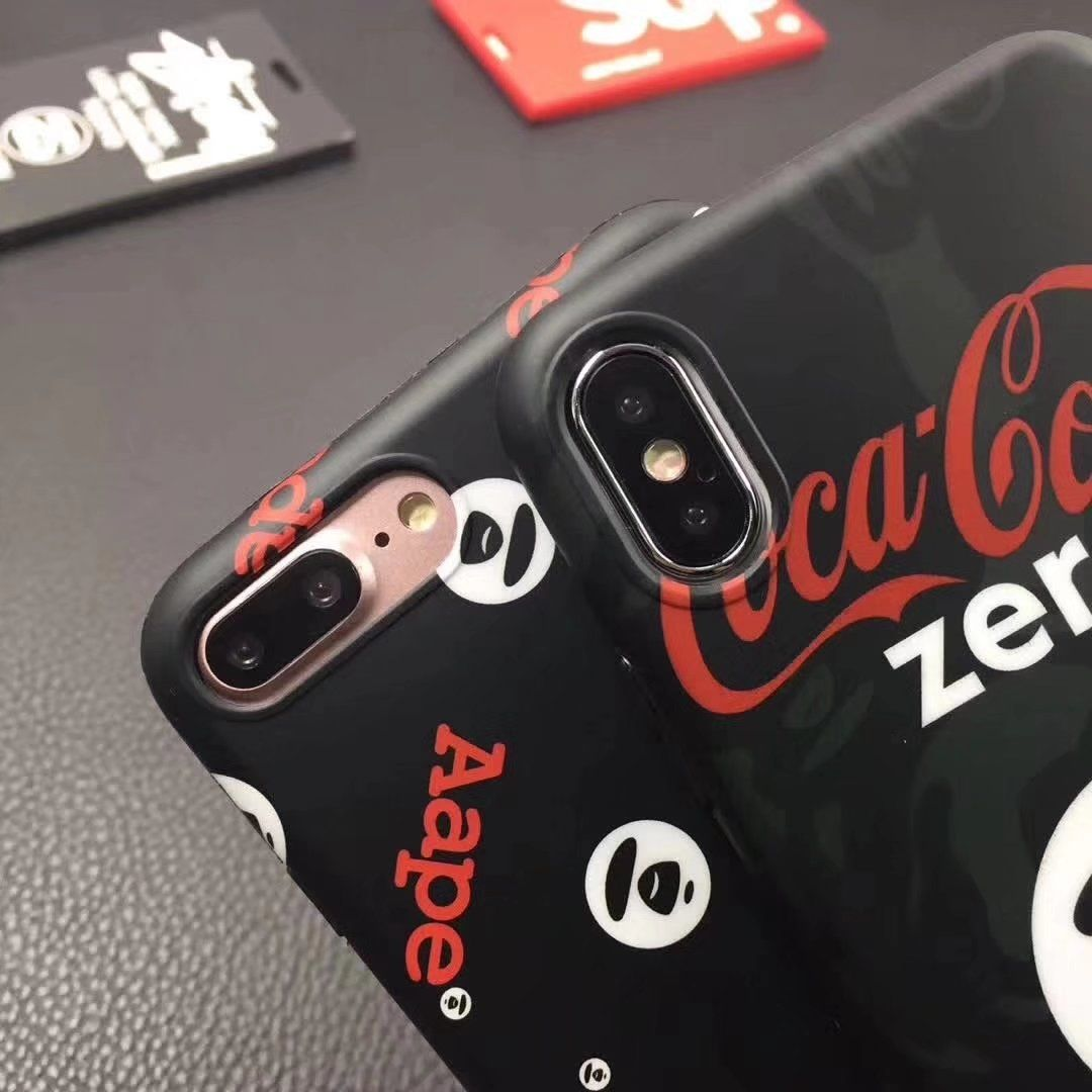 Aapeコカ・コーラ猿エーエイプ Aapeコラボ Iphone 6s 6splusケースかっこいいiphone7