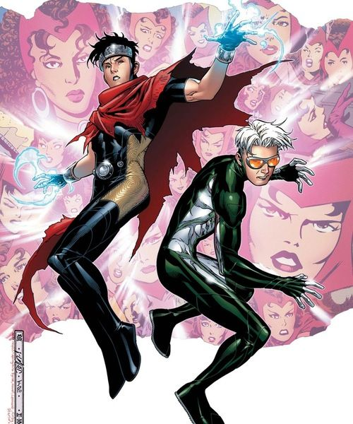 Wiccan and Speed | Young avengers, Marvel young avengers, Avengers comic books