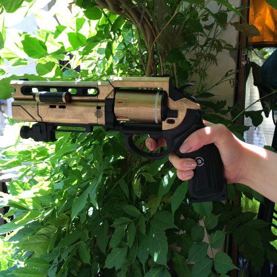 Destiny Fatebringer Hand Cannon 3D Printed Color