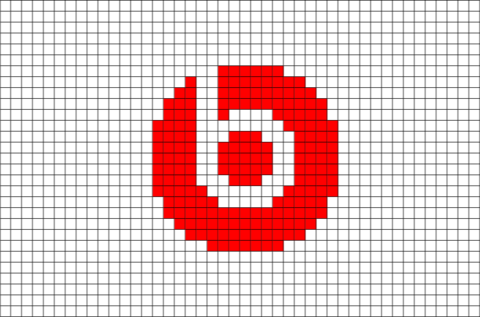 Beats Logo Pixel Art Pixel Art Pattern Pixel Art Pixel Art Design