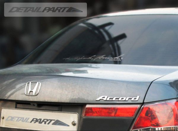Detailpart Car Decal Sticker Cm For Honda Accord Detailpart - Honda accord decals stickers