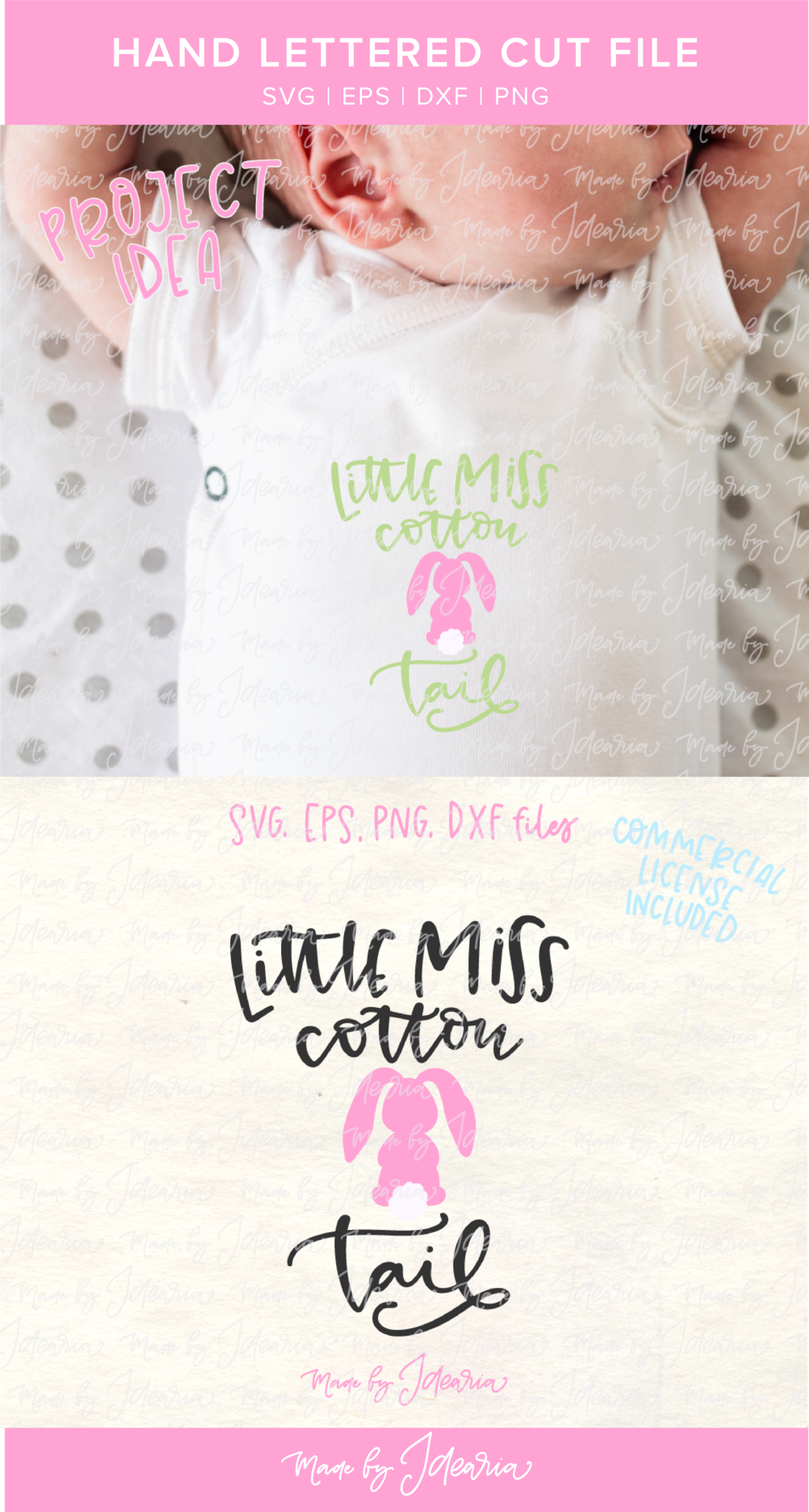 Little miss cotton tail svg file pinterest this cute girl svg file featuring a saying little miss cotton tail and a bunny would negle Images