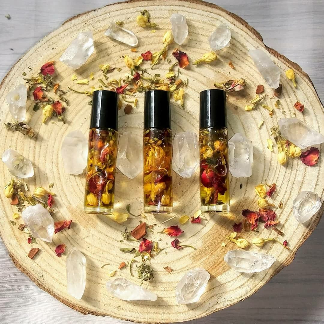 New Moon Oil #newmoonritual Oil to enhance your New Moon Ritual or Intention Setting Energy! #newmoonritual
