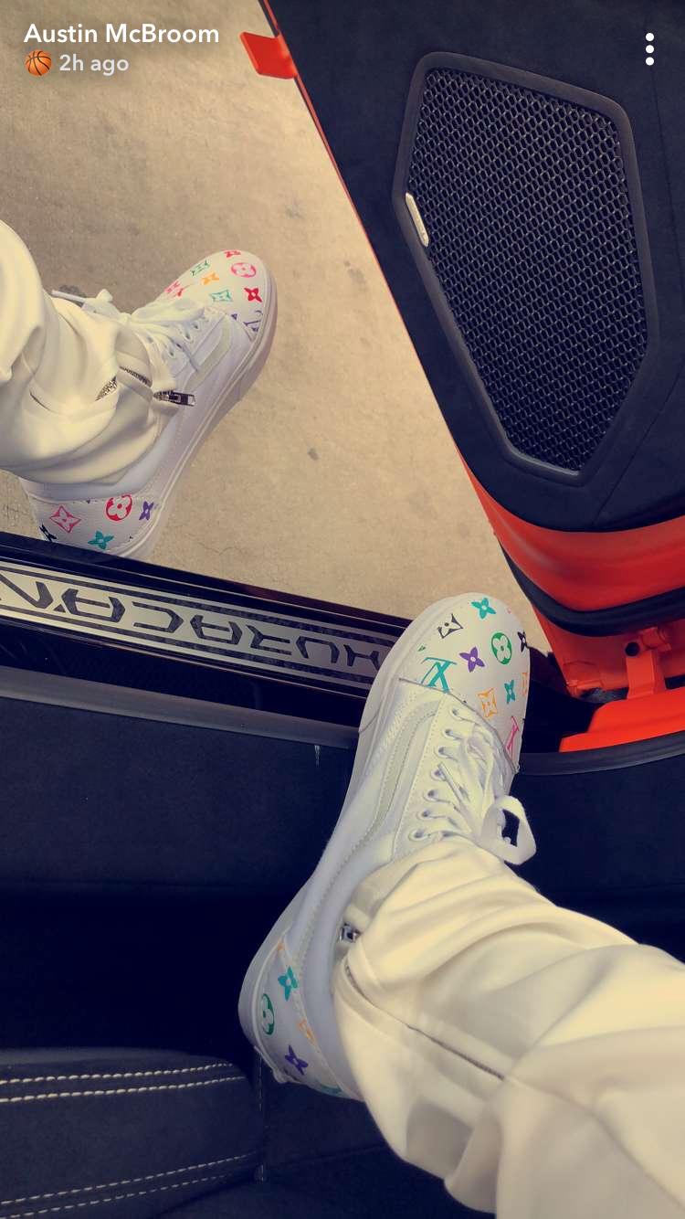 3|24|18 Austin McBroom | Shoes sneakers
