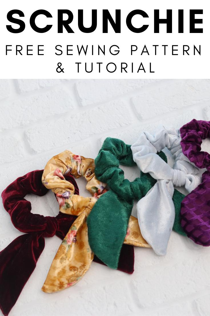 DIY FREE Scrunchie Pattern
