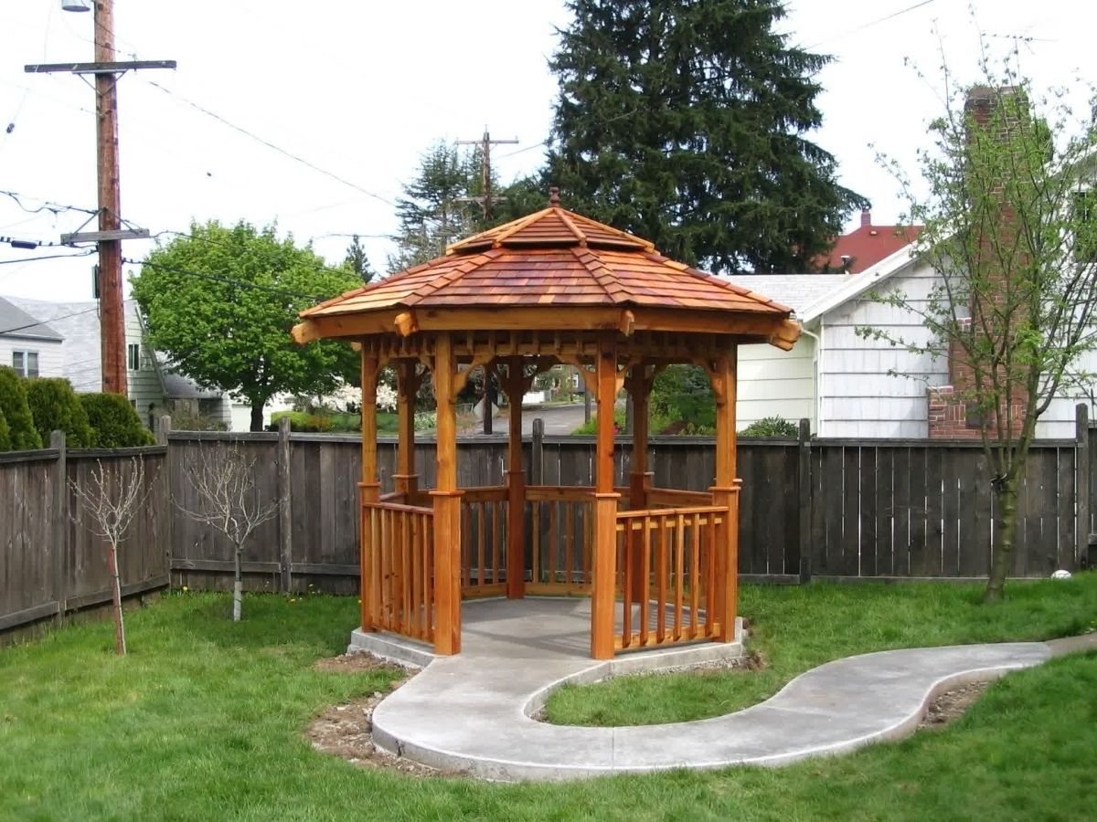Exterior furniture pergolas designs affordable furniture for Outdoor furniture gazebo