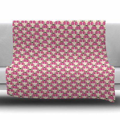 KESS InHouse Rosea by Mayacoa Studio Fleece Blanket