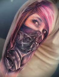 Znalezione Obrazy Dla Zapytania Tatuaze Kobiet W Masce