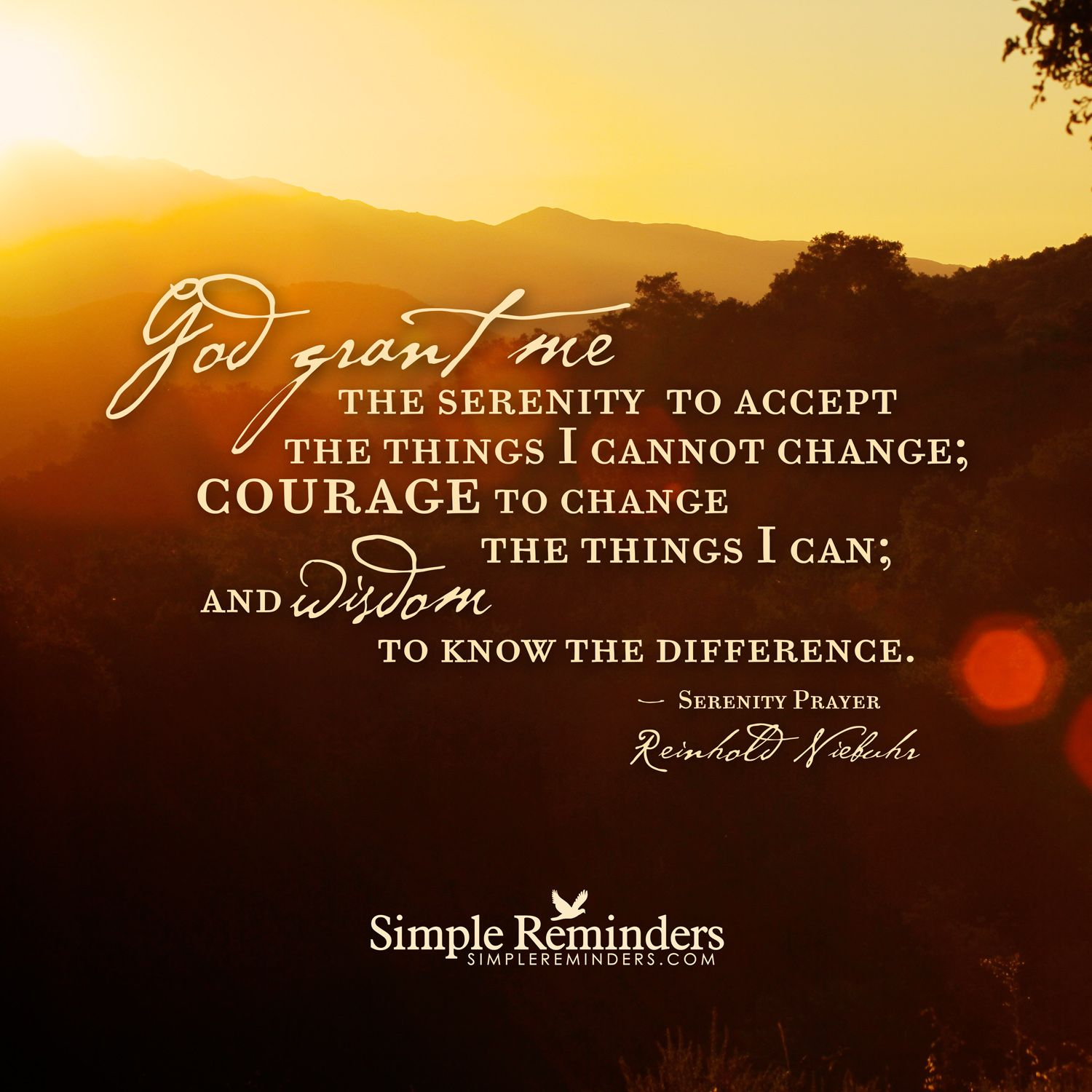 prayer cannot change things discuss The serenity prayer became popular in the 20th century through the work of alcoholics anonymous, an international fellowship of men and women with groups that meet in towns and cities across the.