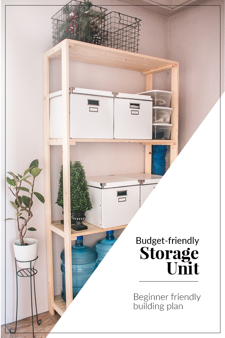 Großartig Budget Friendly Storage Unit