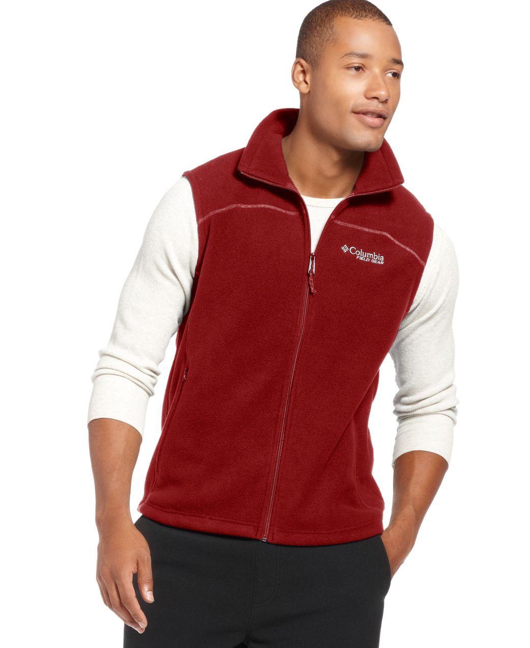 Columbia cathedral peak ii fleece vest products pinterest