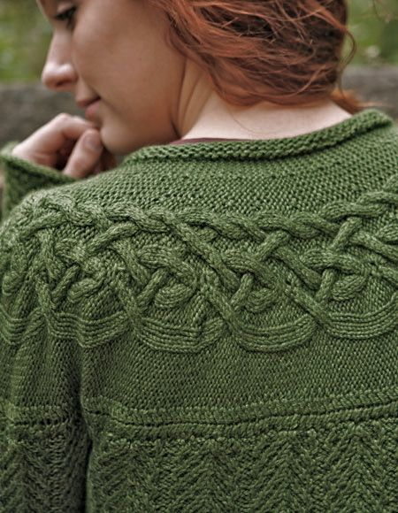 68e5a98ba Circlet Cardigan pattern by Kerin Dimeler-Laurence