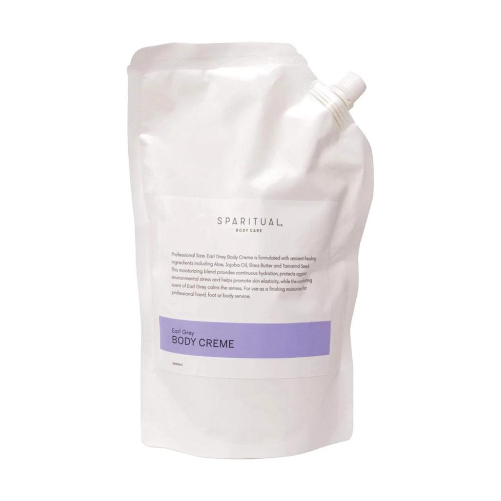 SpaRitual Earl Grey Body Crème, 33.8 oz Clary oil