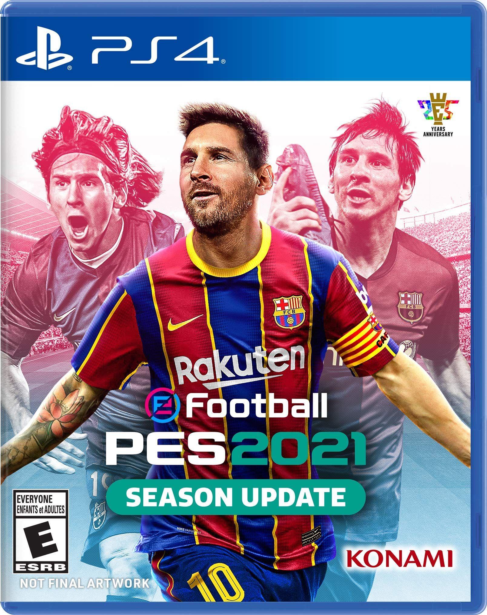 Efootball Pes 2021 Season Update Xbox One Xbox One Games Konami