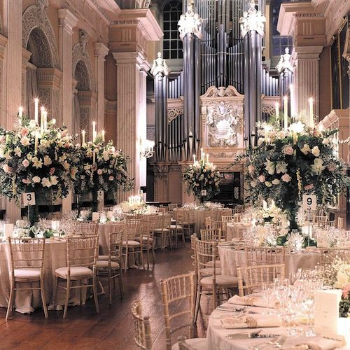 Inside Nigerian billionaire's son's wedding at Blenheim ...