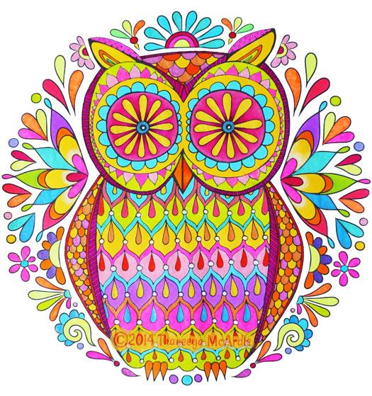 Colour Owl Coloring Ideas Google Search Owl Coloring Pages Designs Coloring Books Coloring Books