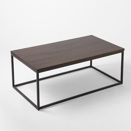 Box Frame Coffe Table Cafe 44w x 24d x 18h West Elm 279