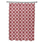 Found it at Wayfair - Subline Geometric Shower Curtain
