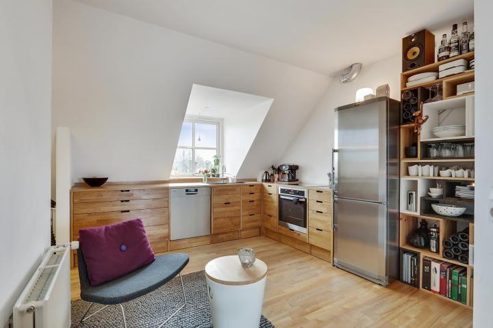 Post Moderna cocina nórdica de madera de roble --u003e blog decoración