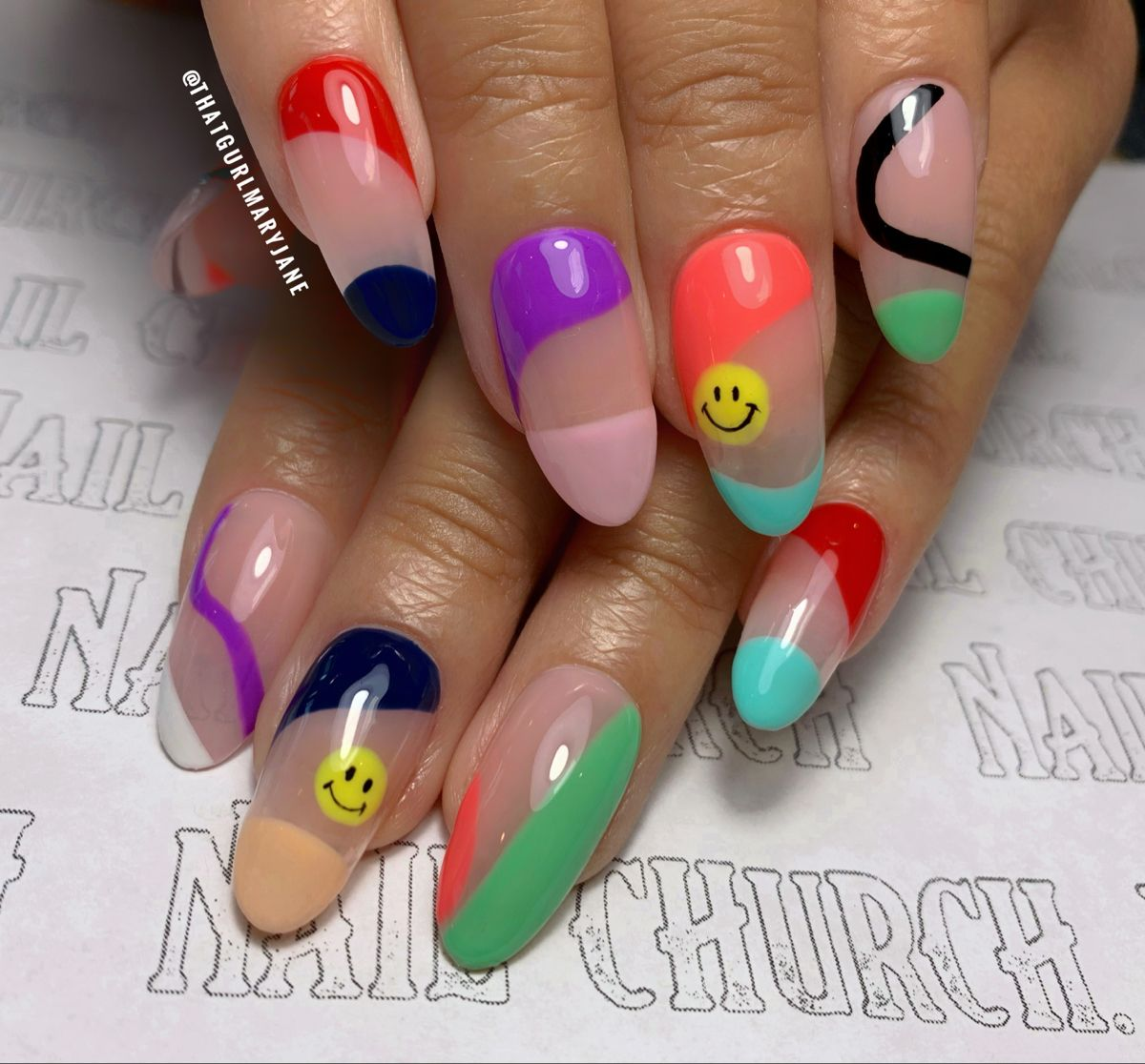#nails #nailart #nailsofinstagram #naildesigns #nailstagram #abstract #nailstyle #nailsmagazine #nailideas #nailsonfleek #nailswag #colorful #apres #thegelbottle #thegelbottleinc