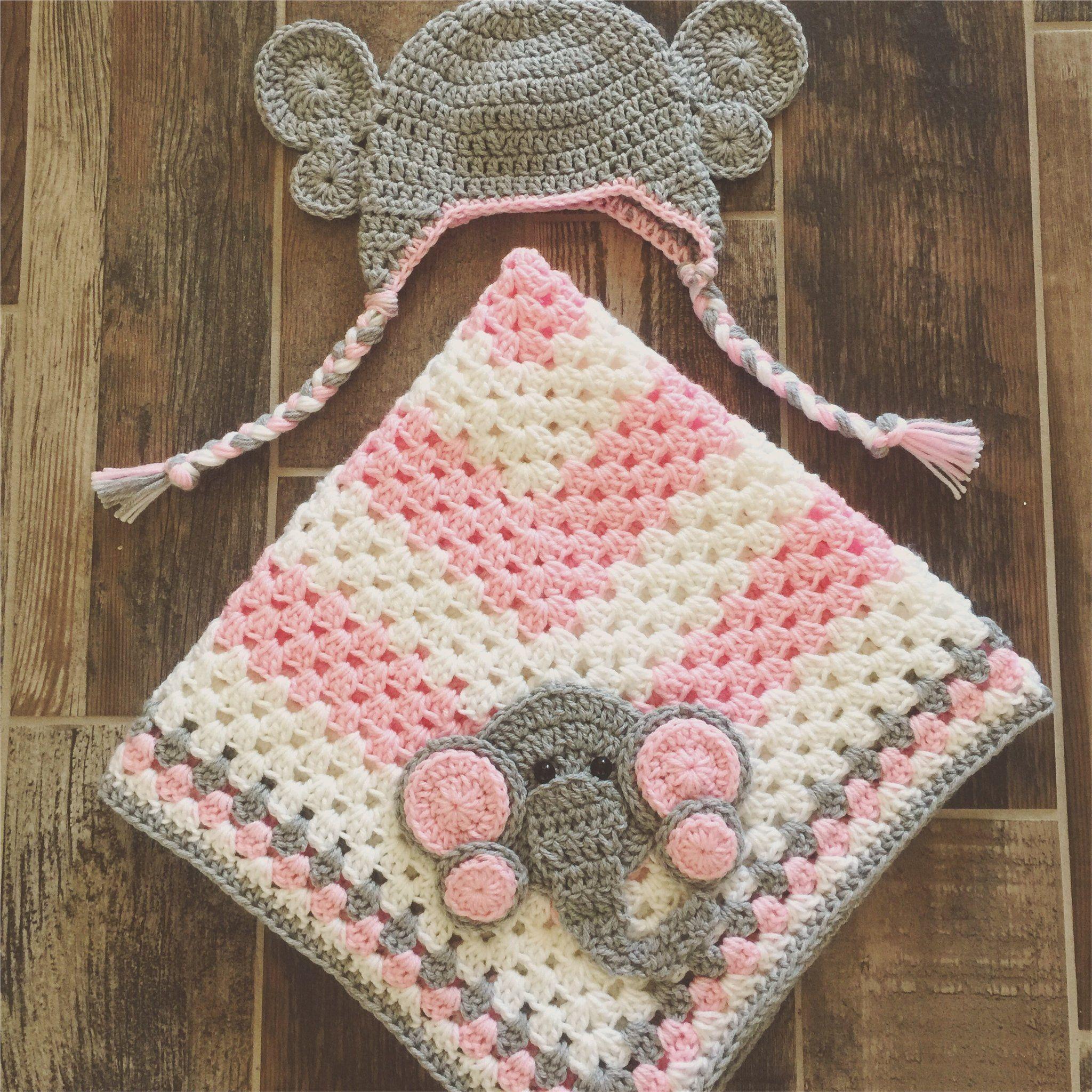 Elephant Baby Blanket | Elephant baby, Blanket and Babies