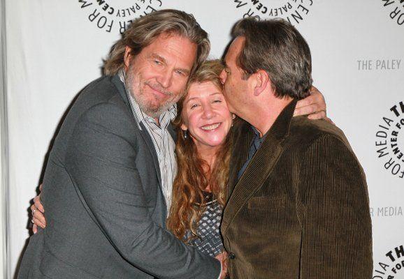 Beau, Jeff and sister Cindy Bridges | Celebrity siblings ...