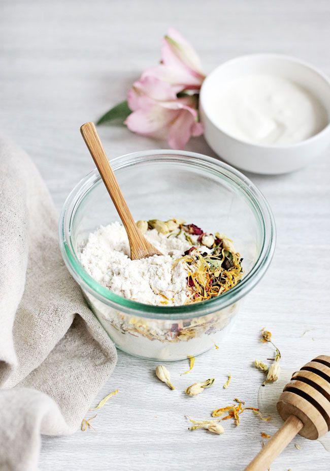 Rice Flour Face Scrub Recipe Oily Skin Care Natural Facial