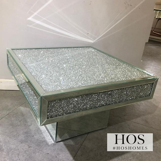 The Brand New Diamond Crush Plaza Coffee Table Only 399.99