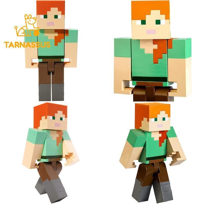 Figurki akcji i z filmów Minecraft Mattel FLC72 Alex Action Figure Large Scale Film, telewizja i gry wideo 8.5