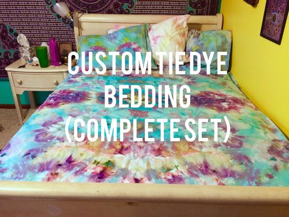 Hey, I found this really awesome Etsy listing at https://www.etsy.com/listing/243559026/custom-tie-dye-bedding-psychedelic