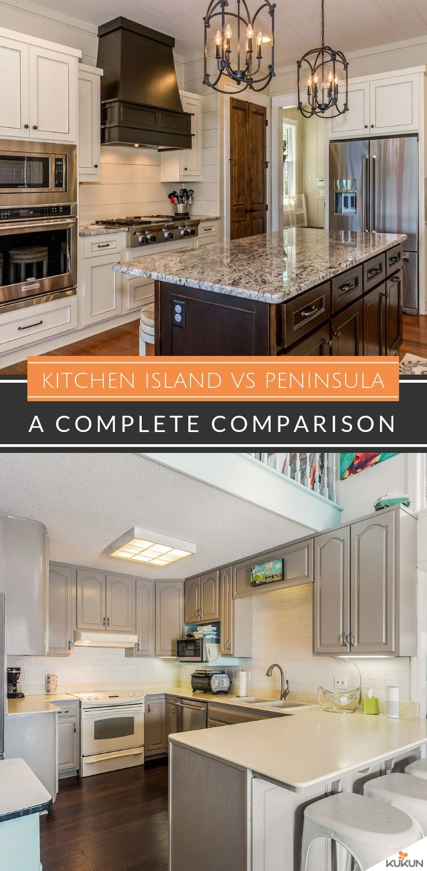Kitchen Island Vs Peninsula An Honest Comparison