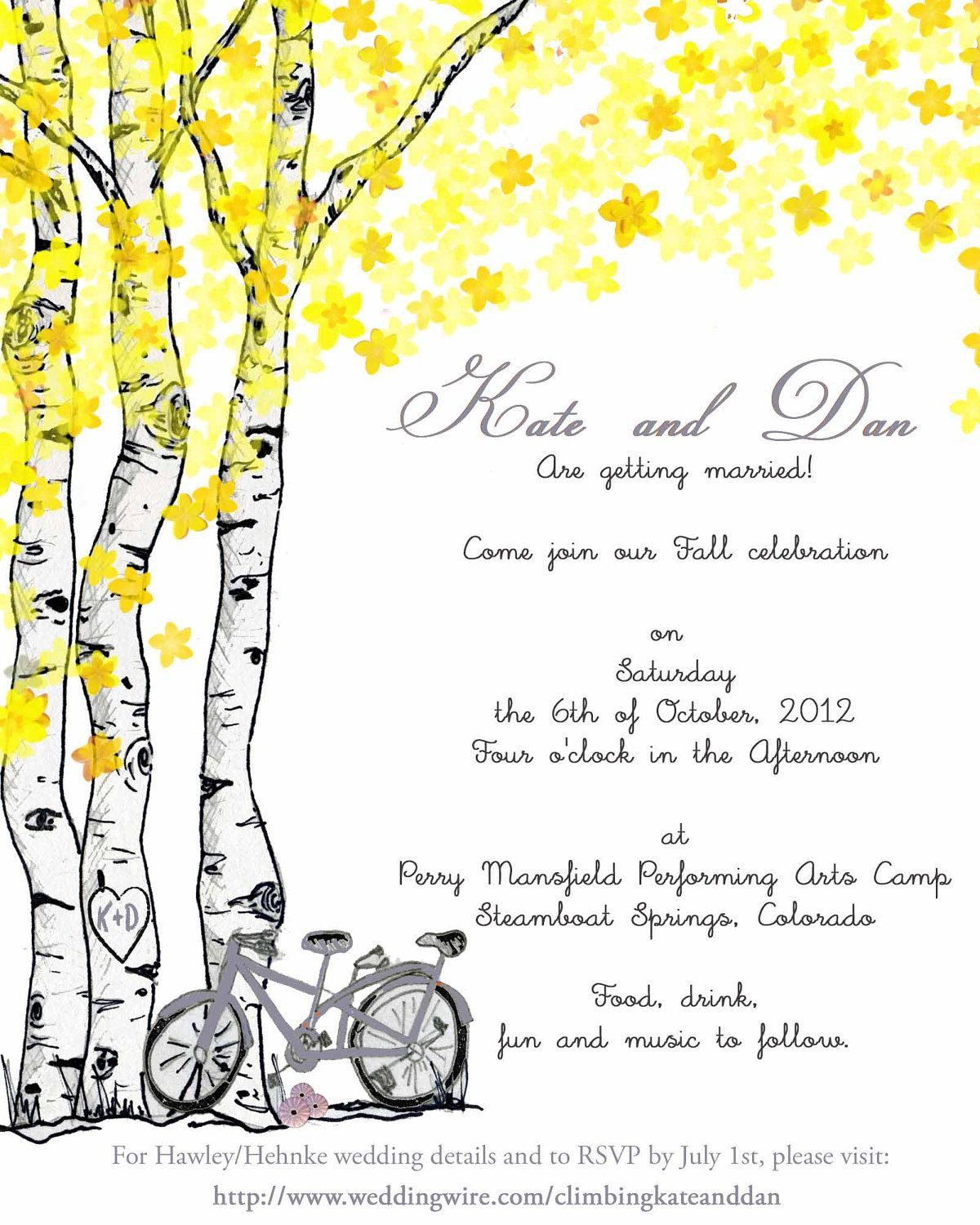 Yellow and Gray Vintage Wedding Invitations Vintage by TWPWeddings ...