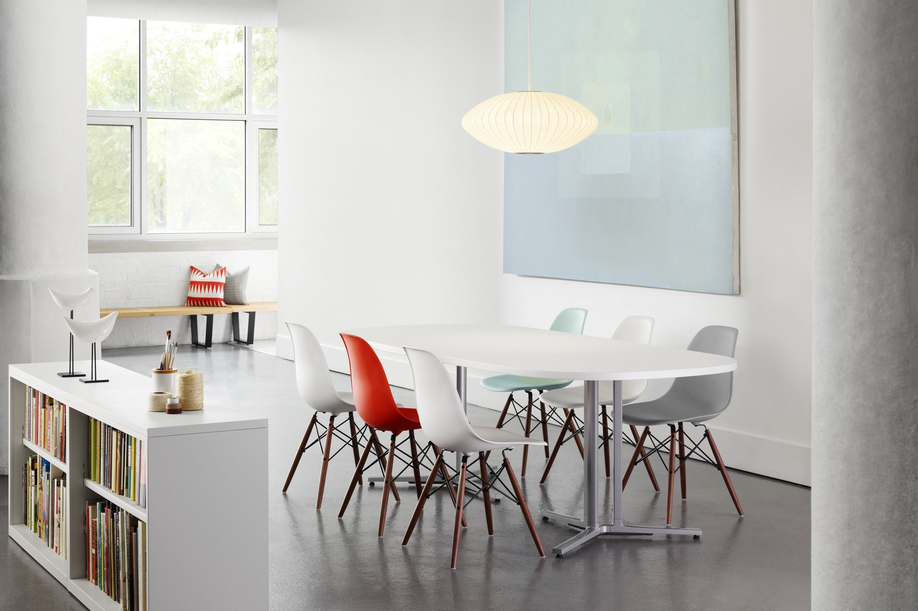 Eames Plastic Molded Chairs Herman Miller