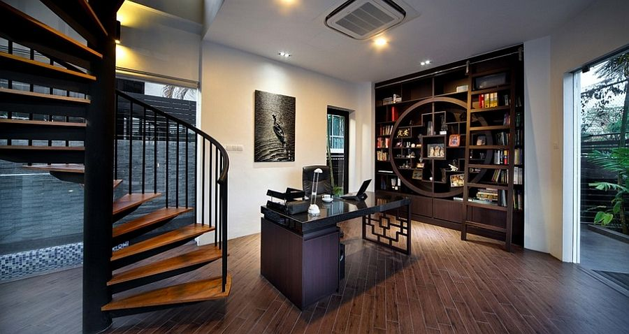 Good 10 Creative Home Offices With An Asian Influence