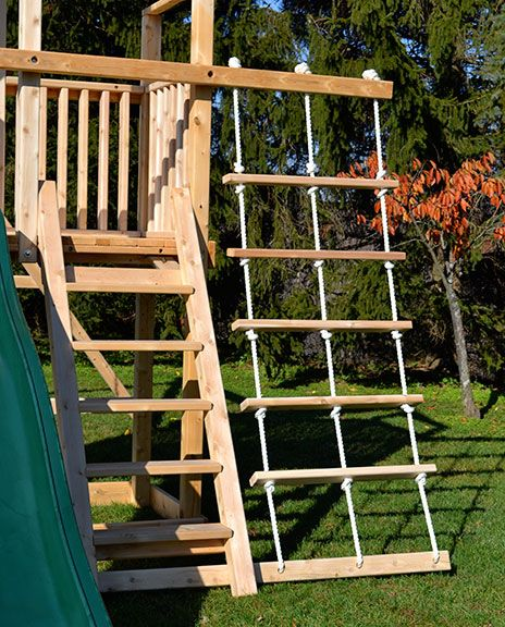 Play Set Rope Ladder With 3 Ropes And 5 Rungs Backyard