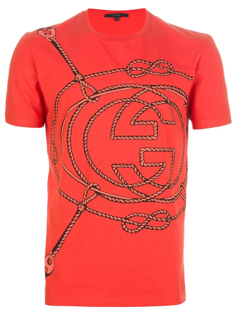 50aa5ad1 Gucci rope logo t-shirt | Coach is for girls. GUCCI, is for women ...