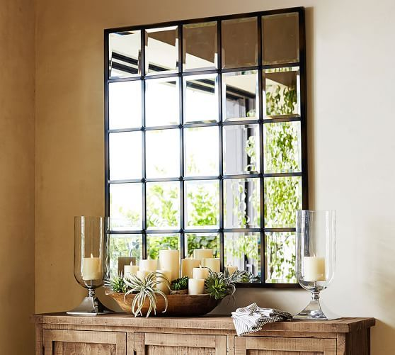 Eagan Large Multipanel Wall Mirror In 2020 Mirror Dining Room