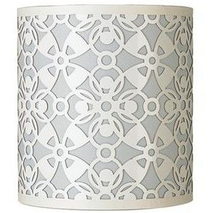 Luxurious white lamp shade with navy trim lamp light white and luxurious white lamp shade with navy trim lamp light white and luminria pinterest white lamp shade lamp light and lights aloadofball Choice Image