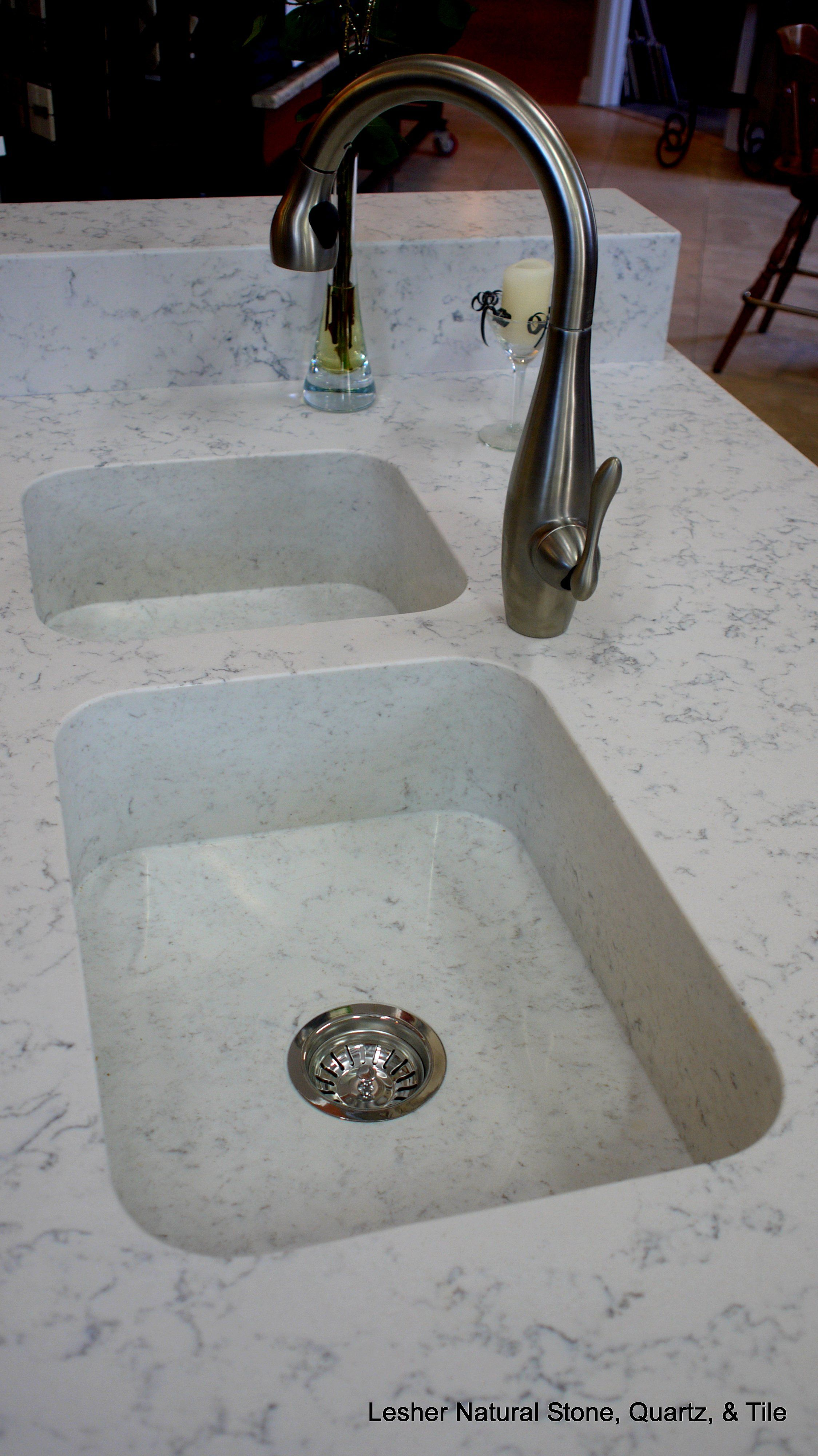 how to clean silestone sink