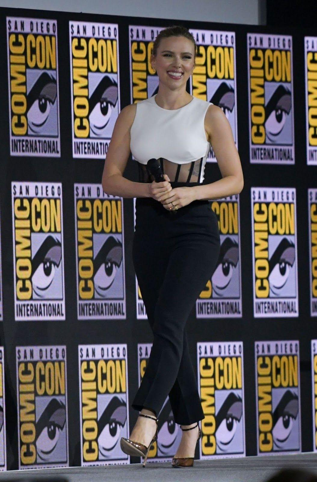 Scarlett Johansson Marvel Presentation At Sdcc 2019