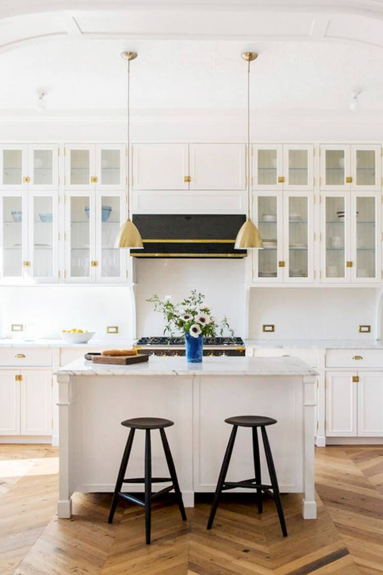 The Herringbone Pattern Floors That Will Upgrade Any Room ...
